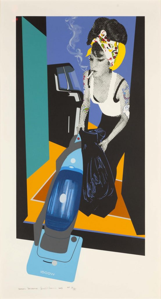 Gerald Laing - Domestic Perspective