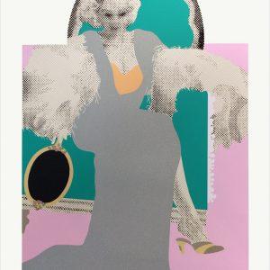 Gerald Laing - Jean Harlow