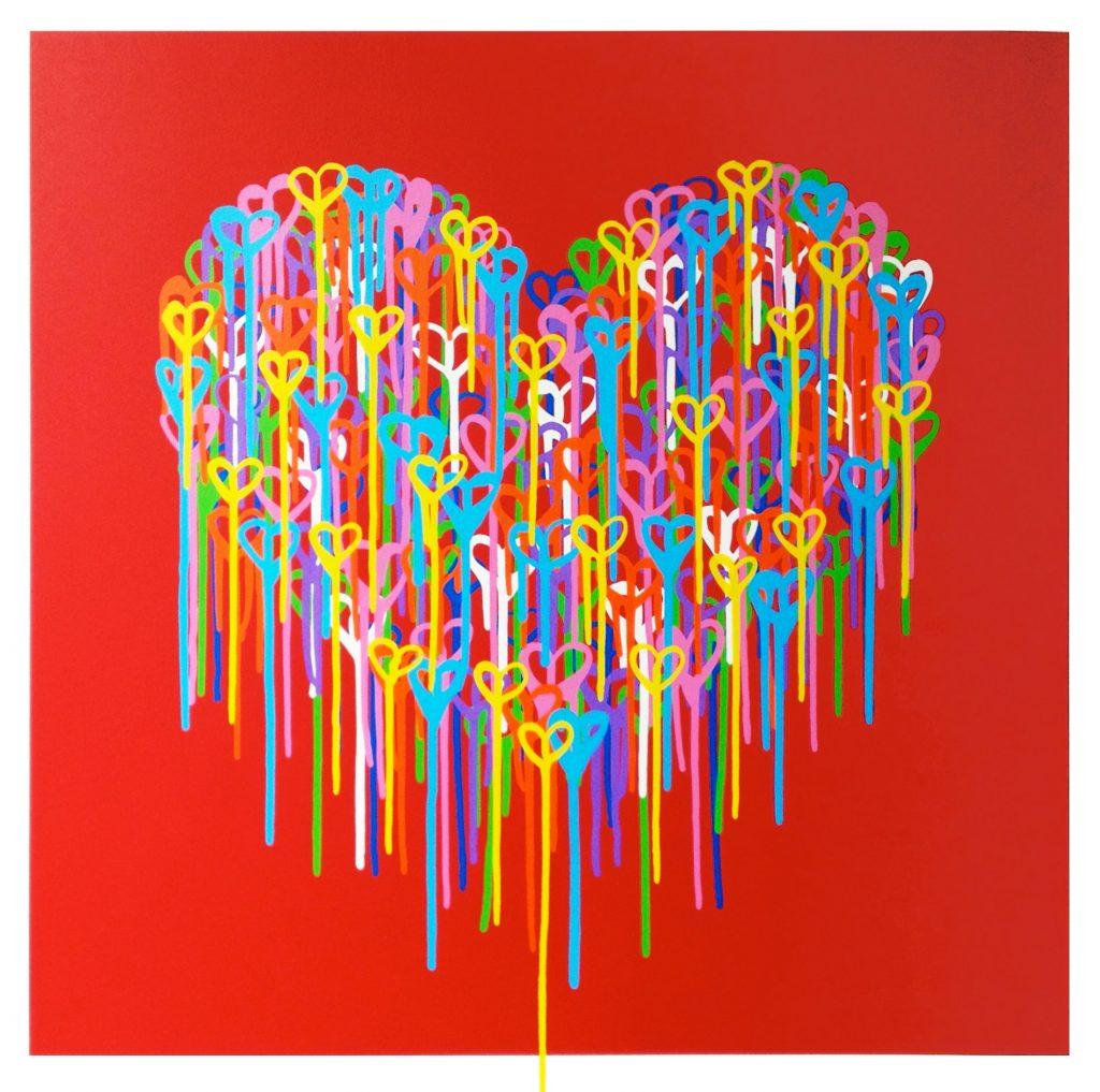 Waleska_Nomura_Heart_in_Love_Red