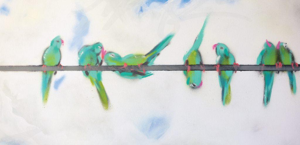 Xenz - Birds on wire