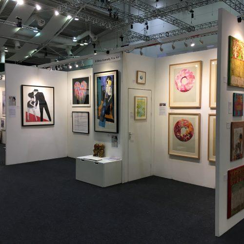 Olivia Connelly at Fresh Art Fair, Cheltenham