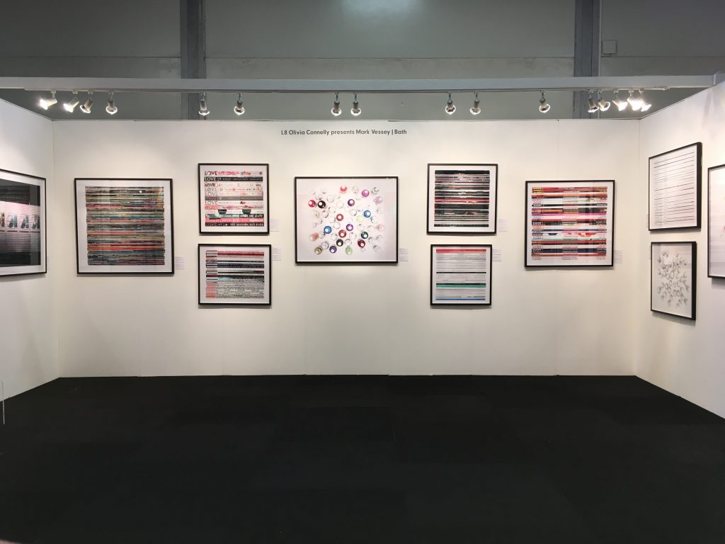 Mark Vessey solo stand, Affordable Art Fair, Battersea