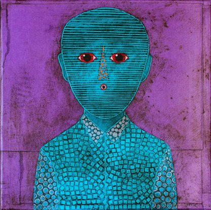 Gustavo_Ortiz_30x30_Blue_Childhood_Portrait